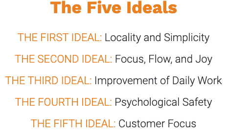 The Five Ideals, The Unicorn Project