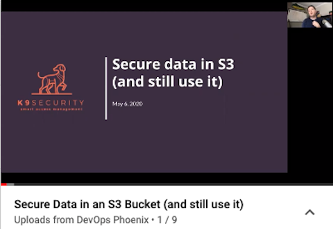 Video: Secure an S3 Bucket