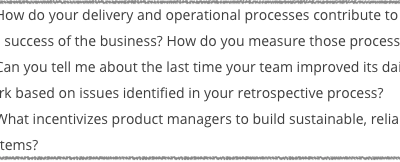 DevOps interview questions: Organizational Maturity
